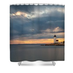 Storm Heading Out Shower Curtain