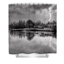 Storm In Paradise Shower Curtain