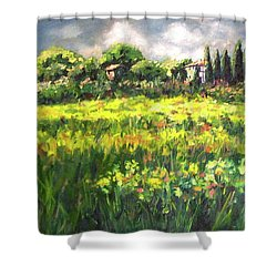 Storm In Tuscany Shower Curtain