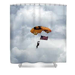 Storm Jump Shower Curtain