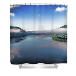 Storm King And The Highlands Shower Curtain