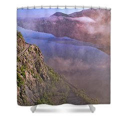 Storm King Highway Shower Curtain