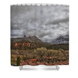 Storm Lifting Shower Curtain