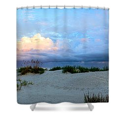 Storm Of Pastels Shower Curtain