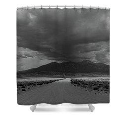 Storm Over Blanca Peak Shower Curtain