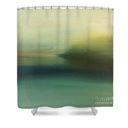 Storm Over Cuba Shower Curtain