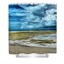 Storm Over Yamacraw Shower Curtain