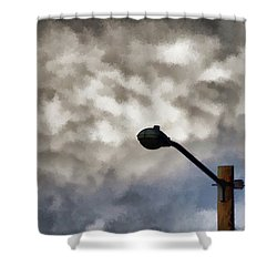 Storm Sentinel Shower Curtain
