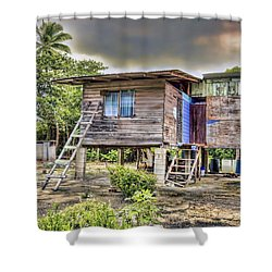 Storm Survivor Shower Curtain