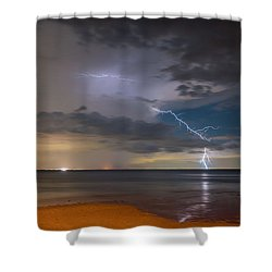 Storm Tension Shower Curtain