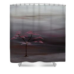 Storm Tree Shower Curtain by Robert Marquiss