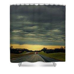 Storm Truckin' Shower Curtain