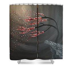 Storm Wind Shower Curtain