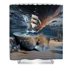 Stormbringer Shower Curtain