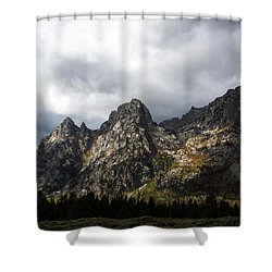 Shower Curtain featuring the photograph Storming Light by Colleen Coccia