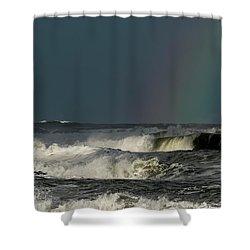 Stormlight Seaside Cove Shower Curtain