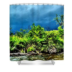 Storms Shower Curtain