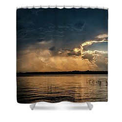 Storms Brewing Shower Curtain