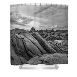 Stormy Afternoon At Alabama Hills Shower Curtain
