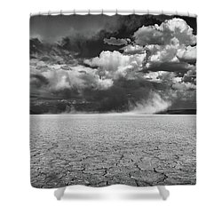 Stormy Alvord Shower Curtain