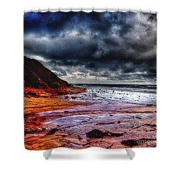 Stormy Day Shower Curtain by Blair Stuart