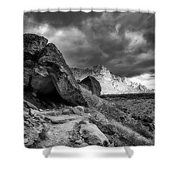 Stormy Misery Ridge  Shower Curtain