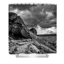 Stormy Misery Ridge  Shower Curtain