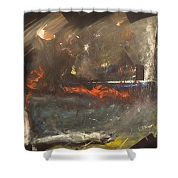 Stormy Monday Shower Curtain by Tim Nyberg
