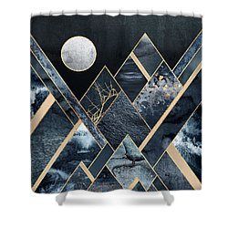 Stormy Mountains Shower Curtain