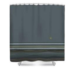 Stormy Seas Shower Curtain