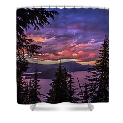 Stormy Sky Shower Curtain