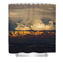 Stormy Skyscape Shower Curtain