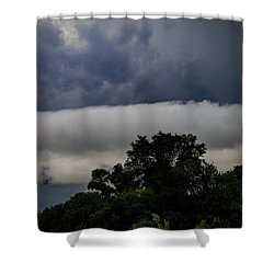 Stormy Summer Sky Shower Curtain