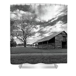 Shower Curtain featuring the photograph Stormy Weather by George Randy Bass