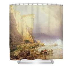 Stormy Weather Shower Curtain by John Mogford