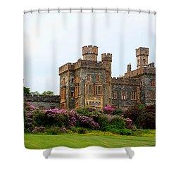 Shower Curtain featuring the photograph Stornoway Castle by Rasma Bertz