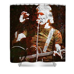 Story Tellin Shower Curtain by Robert Ball