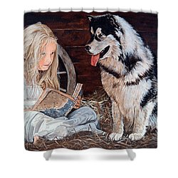 Story Time Shower Curtain