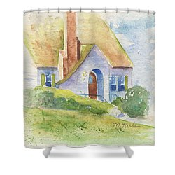 Storybook House Shower Curtain