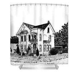 Stouffville House Shower Curtain