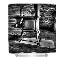 Shower Curtain featuring the photograph Stove by Douglas Stucky