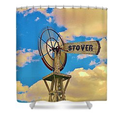 Stover Shower Curtain by Daniel Thompson