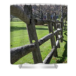 Stowe Recreation Path Shower Curtain