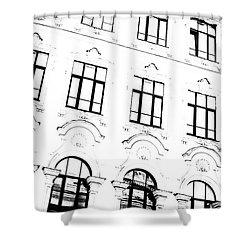 St.petersburg  #7804 Shower Curtain by Andrey Godyaykin