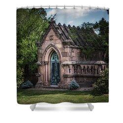 Strader Mausoleum Shower Curtain
