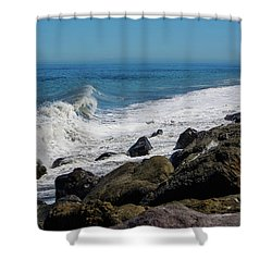 Shower Curtain featuring the photograph Strait Of Juan De Fuca by Tikvah's Hope