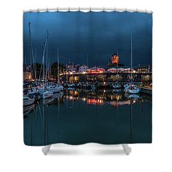 Stralsund At The Habor Shower Curtain