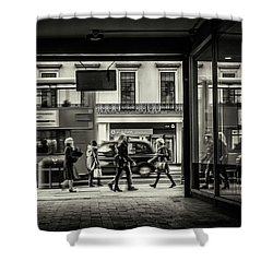 Shower Curtain featuring the photograph Strand by Stewart Marsden