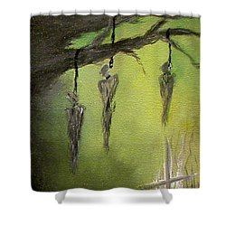 Strange Fruit Shower Curtain