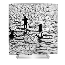 Strange Journey Shower Curtain by Scott Cameron